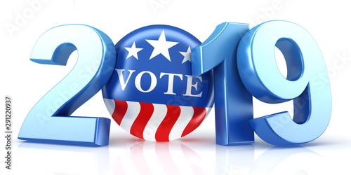 Obraz na plátně  Vote 2019