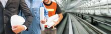 Industry Worker Or Engineer Wo...