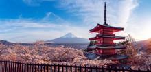 Chureito Red Pagoda