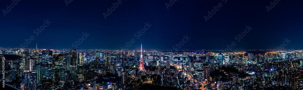 Fototapeta 都市 夜景 景観