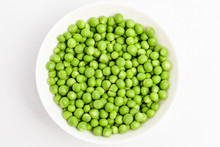 Freeh Organic Green Peas In A ...