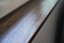Closeup Shot Of Black Walnut W...