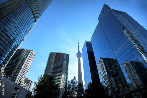 Toronto city skyline, Ontario, Canada Canvas Print