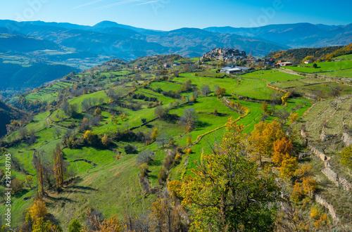Estamariu Village, Alt Urgell, Lleida, Catalunya, Spain