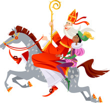 Santa Claus (Sinterklaas) And ...