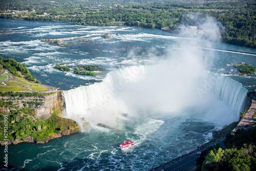Niagara falls in the summer Canvas Print