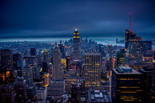 Newyork City At Night, New Yor...