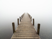 Jetty In The Mist