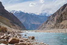 Shyok River And Shyok Valley I...