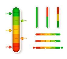 Vertical Color Level Indicator...