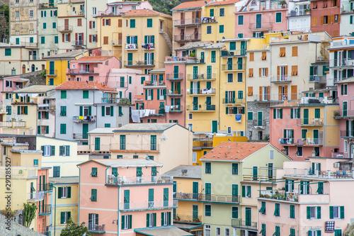 Voyage en cinque terre,la spezia - Riomaggiore Canvas Print