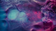 canvas print picture - Smog leak. Sorcery spell. Blue magenta steam blend. Abstract art background.
