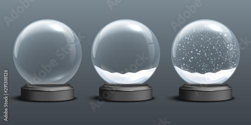 Fotografia Snow globe templates