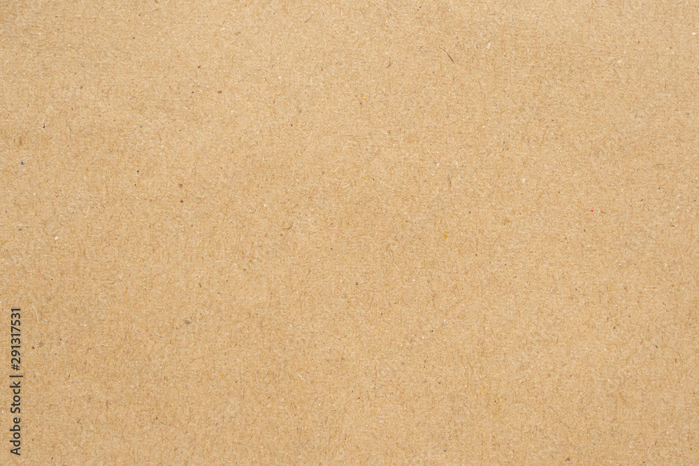Fototapeta Old brown recycle cardboard paper texture background