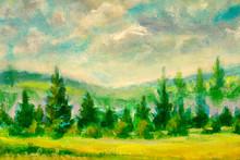 Beautiful Countryside Illustra...