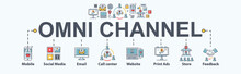 Omni Channel Banner Web Icon F...