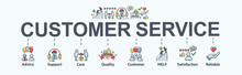 Customer Service Banner Web Ic...