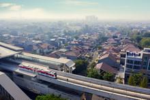 Jakarta MRT Moving On The Elev...