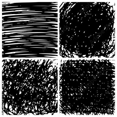 Valokuva Hand drawn scribble background