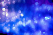 canvas print picture - defocused bokeh lights