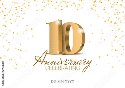 Fotografía Anniversary 10