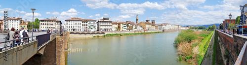 Keuken foto achterwand Oude gebouw Panaramic view and beautiful cityscape of Firenze (Florence), Italy
