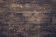 Damaged Wood Plank Flooring