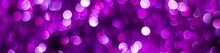Banner Of Purple Shiny Glitter...