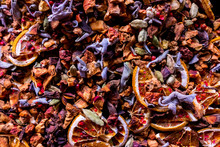 Tea Blend With Pieces Of Dried...