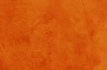 Solid Orange Background Textur...
