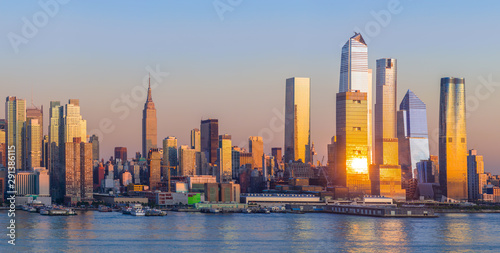 Wall Murals New York New York City Manhattan midtown buildings skyline