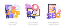 Marketing Campaign Icons Set. ...