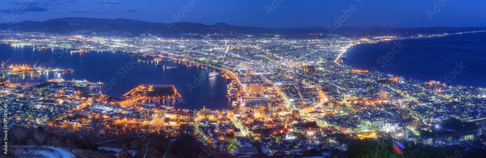 Fototapety, obrazy: 北海道・函館山からの夜景