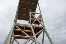 Rescue Tower At The Beach. Res...