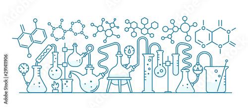 Carta da parati  Chemical formulas