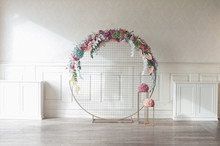 Laconic Round Wedding Arch