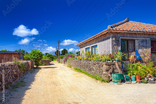 Fotografía 沖縄県・竹富島の集落