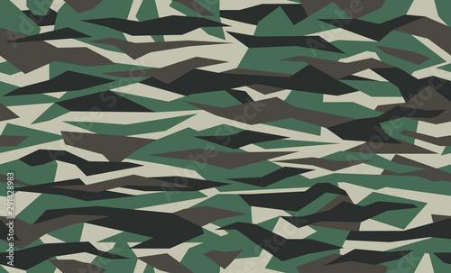 Pinturas sobre lienzo  Geometric camo, seamless pattern