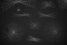 Spider Web. Cobweb Silhouette ...