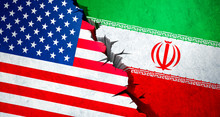 USA And Iran Conflict Concept ...