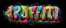 Graffiti - Black