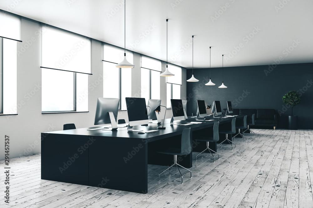 Fototapeta modern open space office