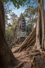 East Gate Of Angkor Thom, Siem Reap, Cambodia