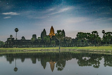 Angkor Wat Temple In The Dawn
