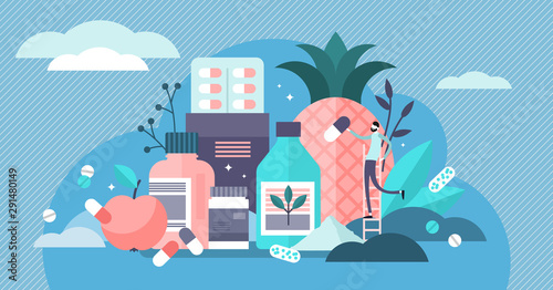 Carta da parati  Supplements vector illustration