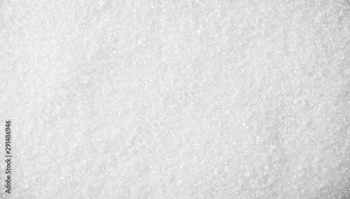 Fototapeta Sugar crystals pile background and texture