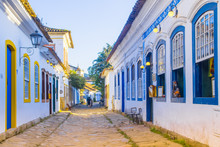 Street Of Historical Center In...