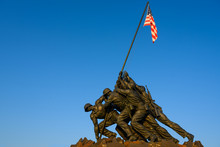 Blue Sky Morning At The USMC W...