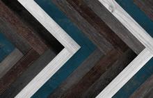 Multi-colored Parquet Floor. W...