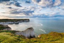 Chalk Cliffs At Flamborough